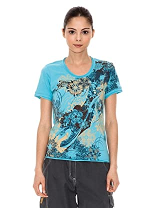 Iguana T-Shirt Salsk (Blau)