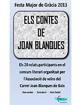 Els contes de Joan Blanques 2013