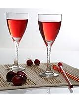 Pasabahce Twist Red Wine Glass,Set of 6,205 ml