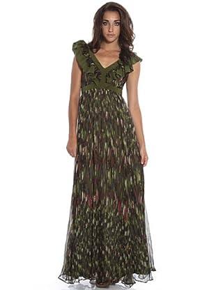 PEDRO DEL HIERRO Vestido Tirantes (Verde)