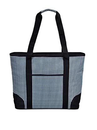 Picnic at Ascot Large Insulated Tote (Houndstooth)