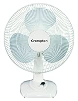 Crompton Greaves High Flo Eva 400mm Table Fan (Ivory)
