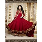 SimpleSarees Faux Georgette Party Wear Anarkali Suit