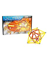 Geomag 120-Piece Color Construction Set with Assorted Panels - Mentally Stimulating for Children and Adults - Safe and High Quality Construction - For Ages 3 and Up