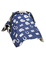Carseat Canopy (NFL Indianapolis Colts) Baby Infant Car Seat Cover
