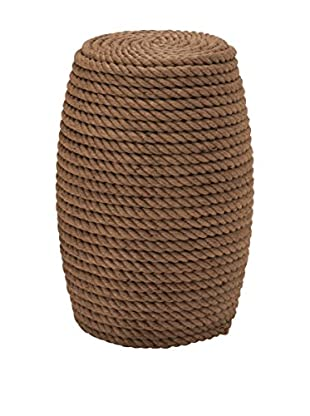 Wood Rope Foot Stool, Multi