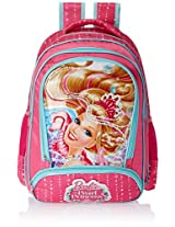 Barbie Pink Children's Backpack (EI-MAT0032)