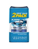 Gillette Clear Gel Cool Wave Anti-Perspirant/Deodorant Twin Pack 6 Oz