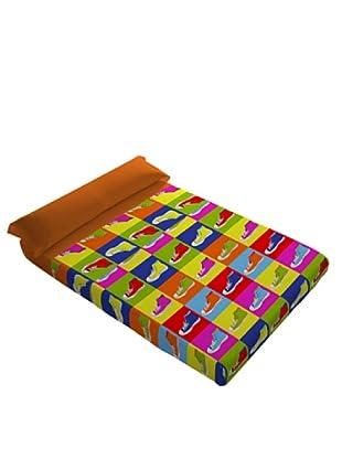 Naturals Juego de Sábanas Zapatillas (Multicolor)