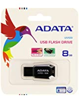 ADATA USB Flash Drive 8GB UV100 Black