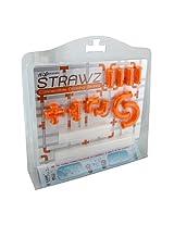 Nuop Design Strawz Connectable Drinking Straws Orange