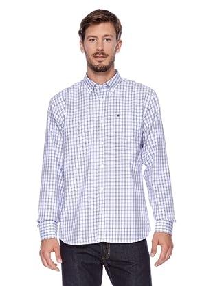 Redgreen Camisa Comfort (Blanco/Azul)