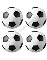 32 mm Foosball Balls , Soccer Table Balls , Football Table Balls - 4 Pcs (For 4ft & Below Tables)