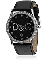 Dw0008 Black/Black Analog Watch D&G
