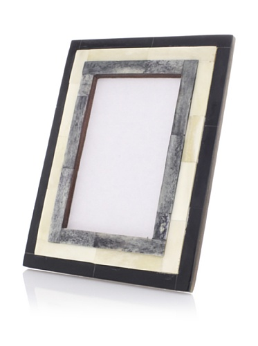 Purva Black/White/Grey 3 Step Bone Frame (Black/White/Grey)