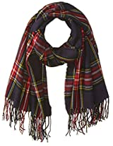 RAMPAGE Women's Plaid Blanket Wrap Scarf
