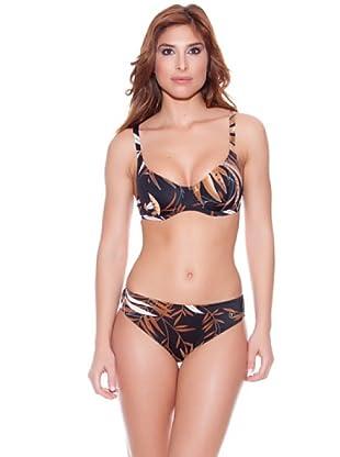 Teleno Bikini Con Aro (Negro)