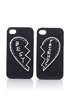 Rebecca Minkoff Best Friends iPhone 4 Cases (Black)