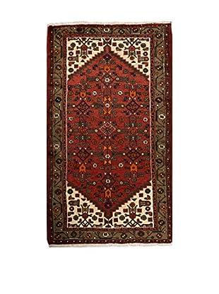 QURAMA Teppich Persian Hamadan rot/elfenbein/lehmbraun