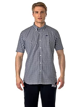 Lonsdale Camisa Xiamen (Negro / Blanco)