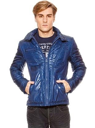 SideCar Jacke Nylon (Blau)