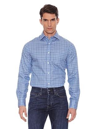 Hackett Camisa Cuadros (Azul / Verde / Marrón)