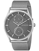 Skagen Holst Chronograph Grey Dial Men's Watch - SKW6172
