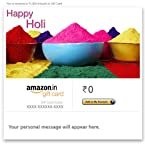 Happy Holi (Bowls of Colour) - E-mail Amazon.in Gift Card