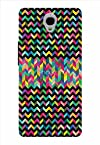 Noise Aztec Black Printed Cover for Alcatel One Touch Idol X Plus
