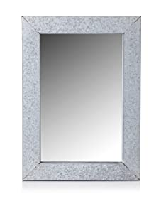 Esschert Design Old Zinc Mirror