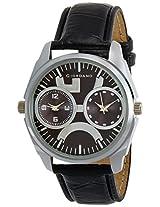 Giordano Analog Black Dial Men's Watch - 60060 (P10719)