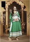 Esha Deol In Light Green Anarkali Suit