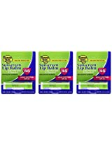 Banana Boat Vera Aloe with Vitamin E SPF45 Lip Baum 3-Pack