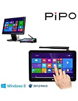 "Pipo X8 Mini Pc Windows8.1 Android4.4 Dual Boot Intel Atom Z3736f Quad Core Mini Computer Box 7""tablet Hdmi 2g/32g 802.11b/g/n LAN Bt4.0 USB 2.0 X 4"