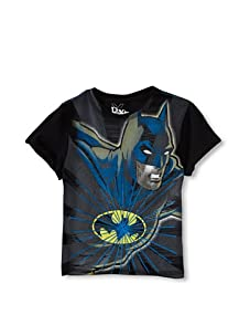 Kid's Republic Boy's Capris Batman T-Shirt (Black)