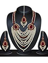 Niki Jewels Alloy Patwa Set for women (Multicolour) (010 207 AK5)