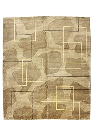 Bashian Rugs Hand Knotted Patan Rug, Brown, 8' x 10'