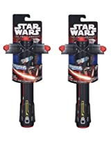 Star Wars The Force Awakens Kylo Ren Extendable Lightsaber (Twin Pack)