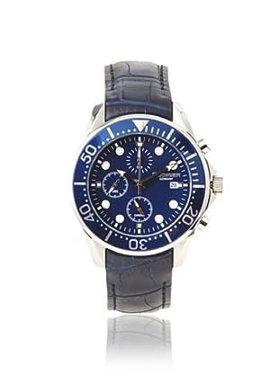 Rudiger Men's R2001-04-003L Chemnitz Blue IP Chronograph Watch