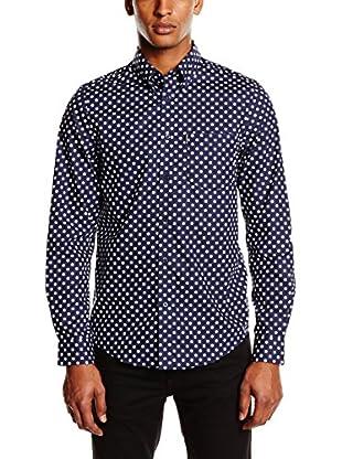 Ben Sherman Camicia Uomo Ls Large Polka Dot