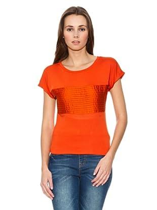 Mango Camiseta Limi (Naranja)