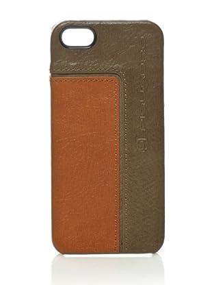 Piquadro Custodia iPhone 5 (tortora/cuoio)