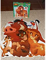 Disneys The Lion King Simbas Pride My Size Friends 46 Piece Jigsaw Puzzle