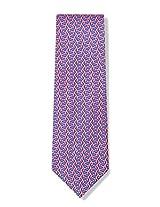 Micro Sharks Silk Tie Necktie - Men's Animal Print Pink Neck Tie