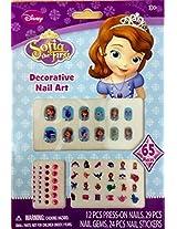 Cjb Sofia Princess The First Nail Art Sticker 65 Pieces (Us Seller)
