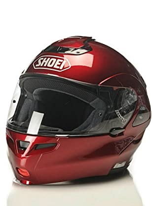 Shoei Casco Multitec Monocolor Candy (Burdeos)