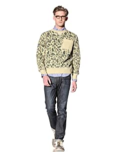Under Two Flags Men's Crew Neck Pullover (Green)