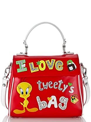 Looney Tunes Borsa Lovely rosso