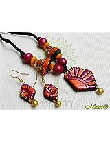 Terracotta Jewelry -Traditional Small Set _ TSa63