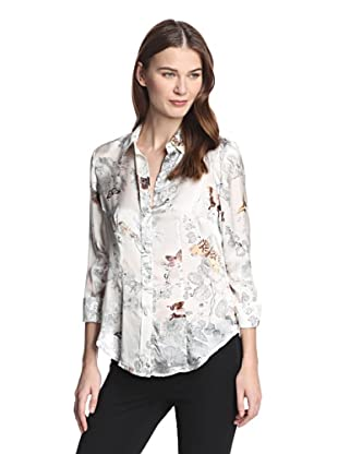 Paperwhite Women's Sunset in Santorini Blouse (Multi)